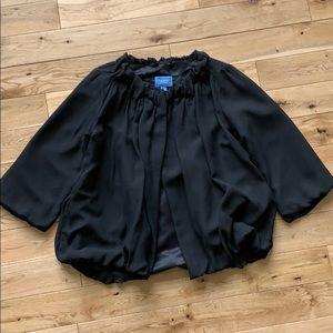 Simply Vera Vera Wang  black coat size XS